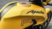 TVS Apache RTR 200 4V tank shrouds review