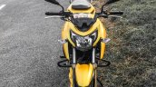 TVS Apache RTR 200 4V yellow front review