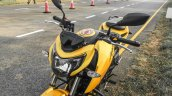 TVS Apache RTR 200 4V yellow tank shrouds review