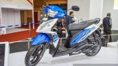 TVS Dazz DFI front quarter at Auto Expo 2016