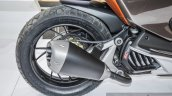 TVS ENTORQ 210 exhaust at Auto Expo 2016