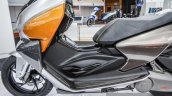 TVS ENTORQ 210 footboard at Auto Expo 2016