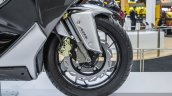 TVS ENTORQ 210 front disc brake ABS at Auto Expo 2016