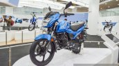 TVS Victor blue at Auto Expo 2016