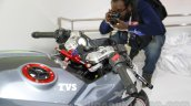 TVS X21 Concept Racer clip-on handlebar at AUto Expo 2016