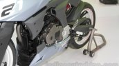 TVS X21 Concept Racer engine cowl swingarm at AUto Expo 2016