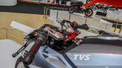 TVS X21 Concept clip-on handlebars at Auto Expo 2016