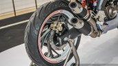 TVS X21 Concept rear wheel tyre at Auto Expo 2016