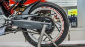 TVS X21 Concept swingarm at Auto Expo 2016