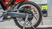 TVS X21 Concept swingarm at Auto Expo 2016