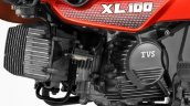 TVS XL 100 4-stroke engine