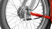 TVS XL 100 drum brake