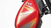 TVS XL 100 fuel tank