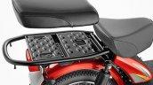 TVS XL 100 rear seat