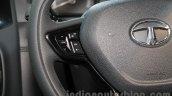 Tata HEXA TUFF steering mounted buttons Auto Expo 2016