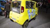Tata Iris Magic Ziva rear three quarter right at Auto Expo 2016