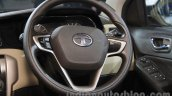 Tata Zest Personalized steering wheel at Auto Expo 2016