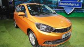 Tata Zica front left three quarter at Auto Expo 2016