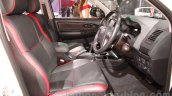 Toyota Fortuner TRD Sportivo Platinum front cabin at the Auto Expo 2016