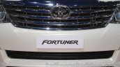 Toyota Fortuner TRD Sportivo Platinum grille at the Auto Expo 2016