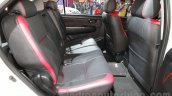 Toyota Fortuner TRD Sportivo Platinum rear cabin at the Auto Expo 2016