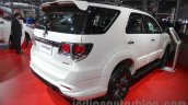Toyota Fortuner TRD Sportivo Platinum rear end at the Auto Expo 2016
