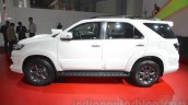 Toyota Fortuner TRD Sportivo Platinum side at the Auto Expo 2016