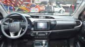 Toyota Hilux dashboard at the 2016 Geneva Motor Show