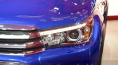 Toyota Hilux headlamp at the 2016 Geneva Motor Show