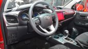 Toyota Hilux interior at the 2016 Geneva Motor Show