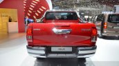 Toyota Hilux rear at the 2016 Geneva Motor Show
