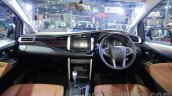 Toyota Innova Crysta 2.8 Z dashboard at the Auto Expo 2016