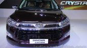 Toyota Innova Crysta 2.8 Z front at the Auto Expo 2016