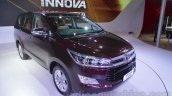 Toyota Innova Crysta 2.8 Z front three quarter at the Auto Expo 2016