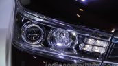 Toyota Innova Crysta 2.8 Z headlamp at the Auto Expo 2016