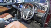 Toyota Innova Crysta 2.8 Z interior at the Auto Expo 2016