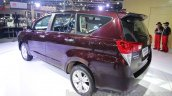 Toyota Innova Crysta 2.8 Z rear three quarter at the Auto Expo 2016