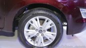 Toyota Innova Crysta 2.8 Z rim at the Auto Expo 2016