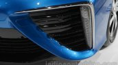 Toyota Mirai  fog lamp detail at Auto Expo 2016