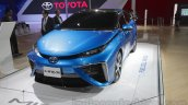 Toyota Mirai  front three quarter at Auto Expo 2016