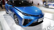 Toyota Mirai  front three quarter left at Auto Expo 2016