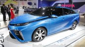 Toyota Mirai  front three quarter left side at Auto Expo 2016