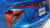 Toyota Mirai  taillight detail at Auto Expo 2016