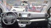 Toyota Proace Verso dashboard at the 2016 Geneva Motor Show