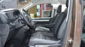 Toyota Proace Verso front seats at the 2016 Geneva Motor Show