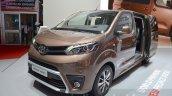 Toyota Proace Verso front three quarter at the 2016 Geneva Motor Show