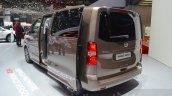 Toyota Proace Verso rear three quarter at the 2016 Geneva Motor Show