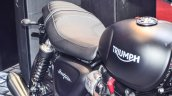 Triumph Bonneville Street Twin Matt Black at Auto Expo 2016