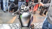 Triumph Bonneville Street Twin Matt Black handlebar at Auto Expo 2016