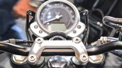 Triumph Bonneville Street Twin Red instrument cluster at Auto Expo 2016